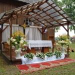 Dekoracja - Odpust św. Anny 2015