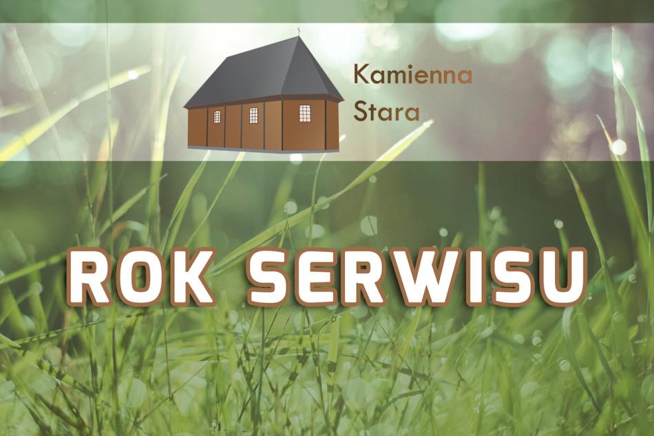 rok serwisu Kamienna-Stara.pl