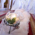 Piękna dekoracja ślubna w Kamiennej Starej