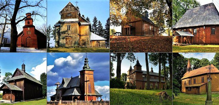 Kościoły drewniane na Podlasiu